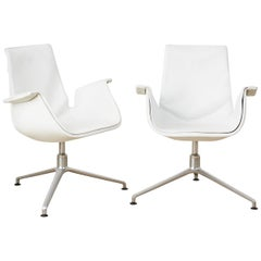 Pair of 1950s Model FK 6727 'Bird' Chairs