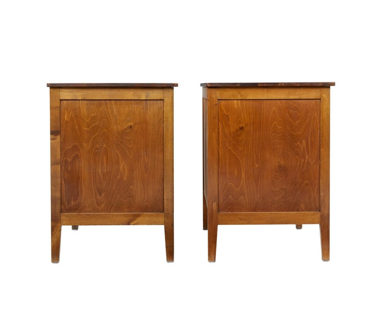 Pair of 1950s Scandinavian Teak Chest of Drawers 3