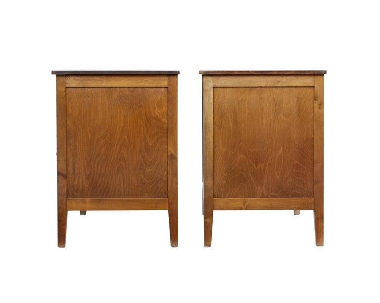 Pair of 1950s Scandinavian Teak Chest of Drawers 4