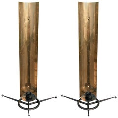 Pair of 1950s Tony Paul Sconces