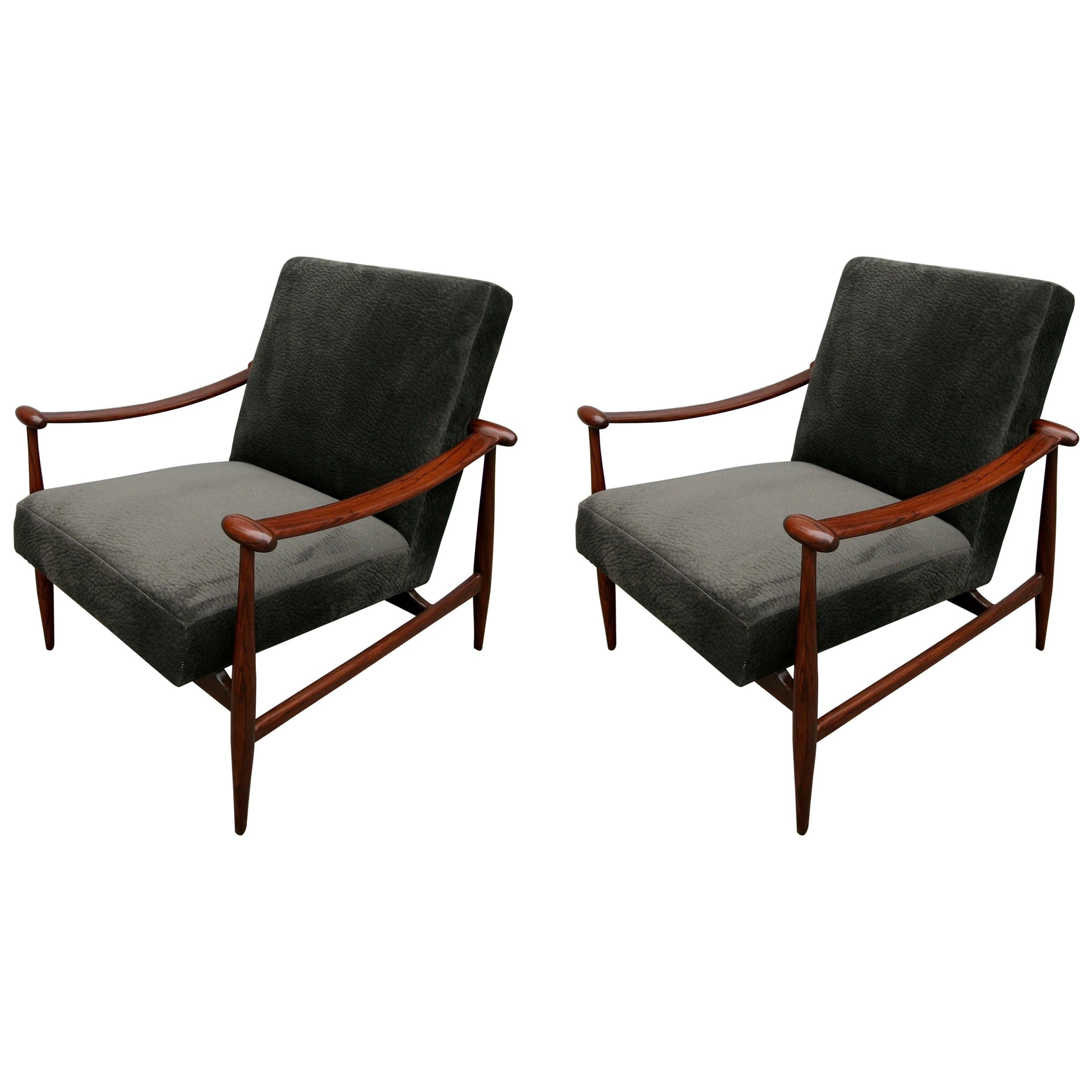 Pair of 1960s Brazilian Armchairs