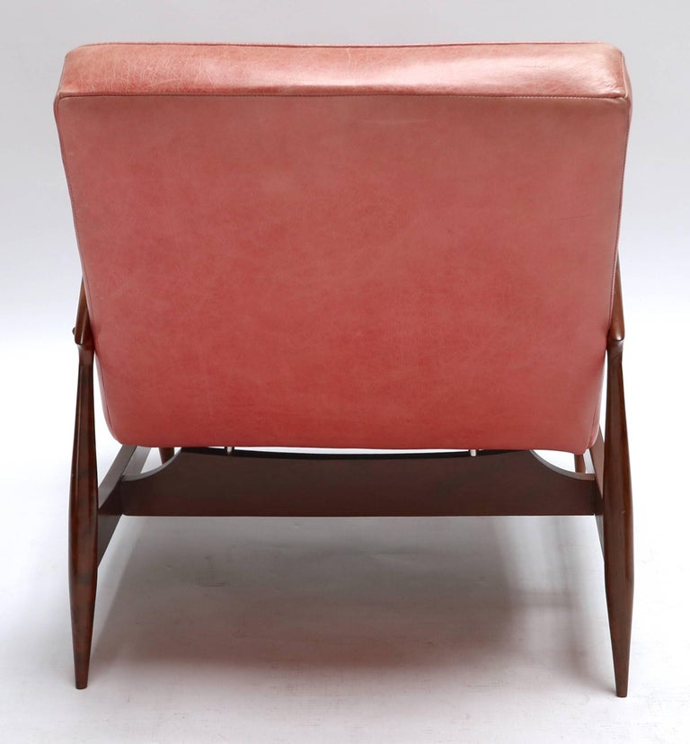 Mid-20th Century Pair of 1960s Brazilian Caviuna Armchairs For Sale