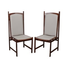 Pair of 1960s Brazilian Dining Chairs by Celina Moveis
