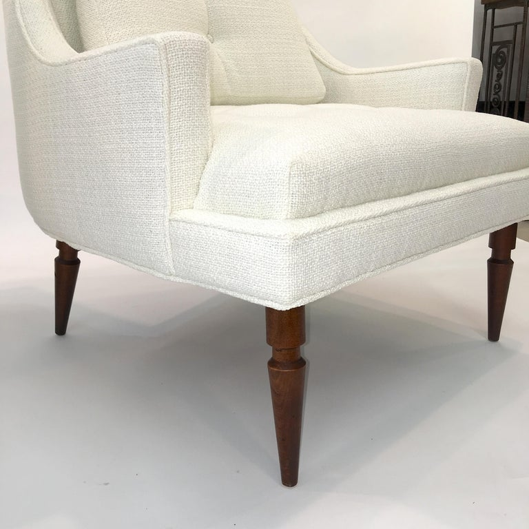 Pair of 1960s Chevron Lounge Chairs For Sale 12