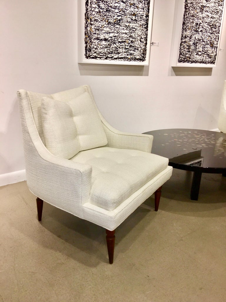 Mid-Century Modern Pair of 1960s Chevron Lounge Chairs For Sale
