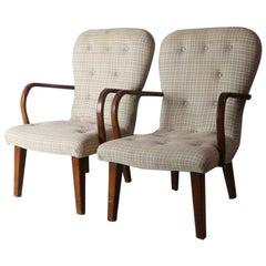 Pair of 1960s Danish Midcentury Occasional Chairs