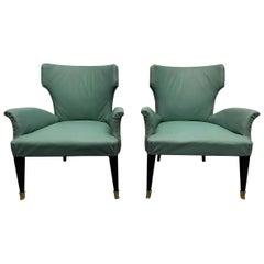 Pair of 1960s Italian Children's Chairs