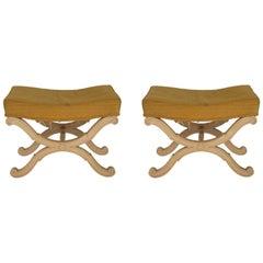 Pair of 1960s Italian Footstools
