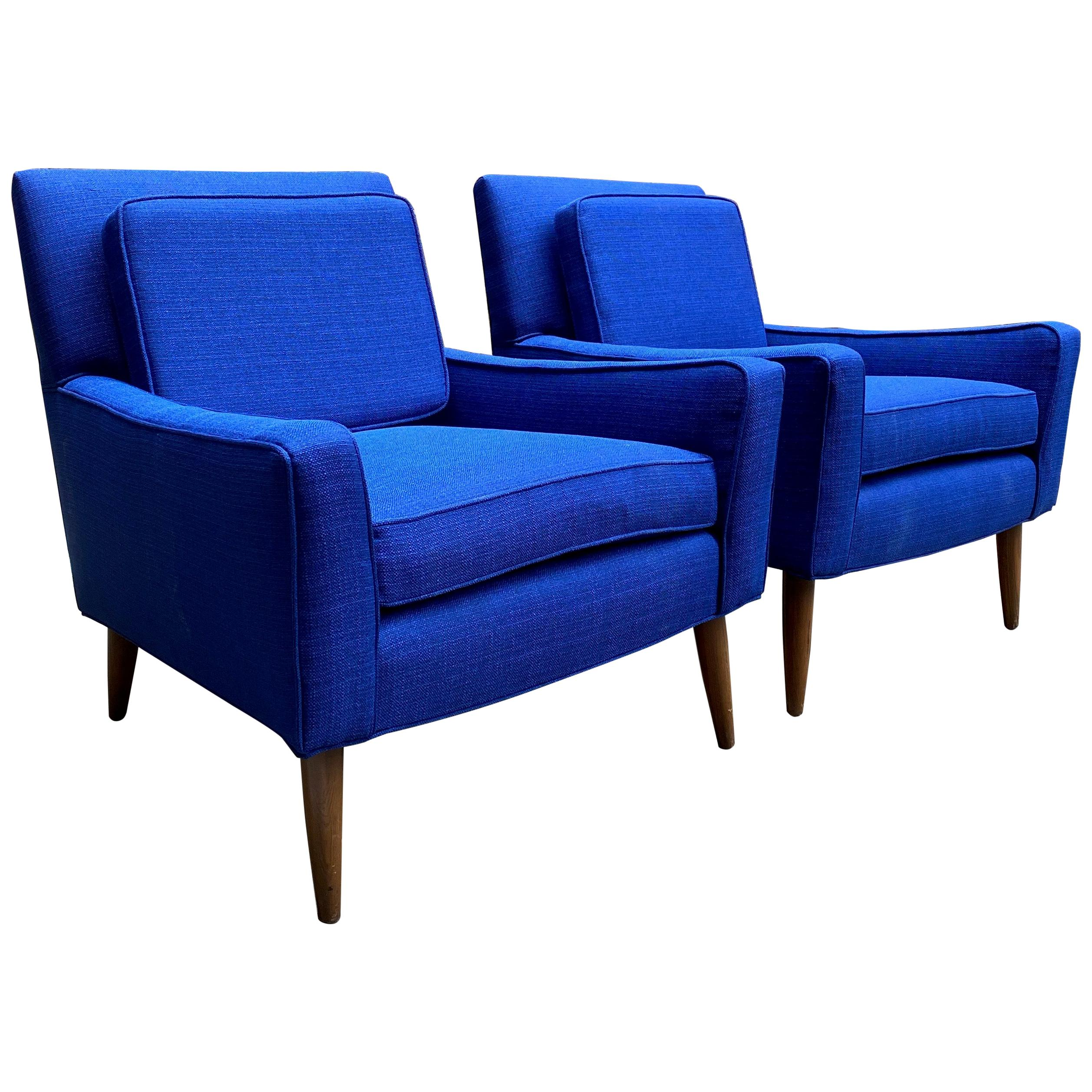 Pair of 1960s Lounge Chairs the Manner of Paul McCobb