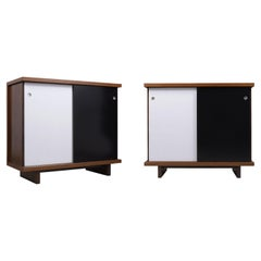 Pair of 1960s Mid-Century Chest of Drawers