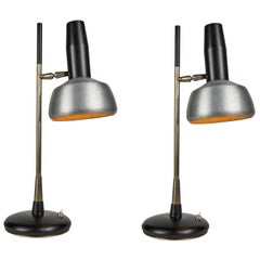 Pair of 1960s Oscar Torlasco Table Lamps for Lumi