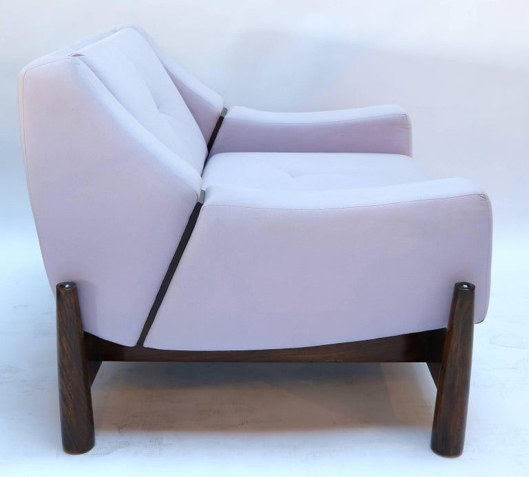 Pair of 1960s Percival Lafer Brazilian Club Chairs For Sale 2