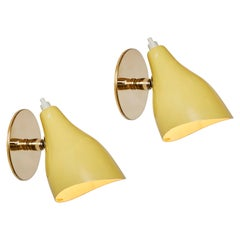Pair of 1960s Stilux Milano Articulating Sconces