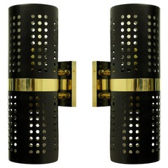 Pair of 1960s Style Double Ended Wall Sconces