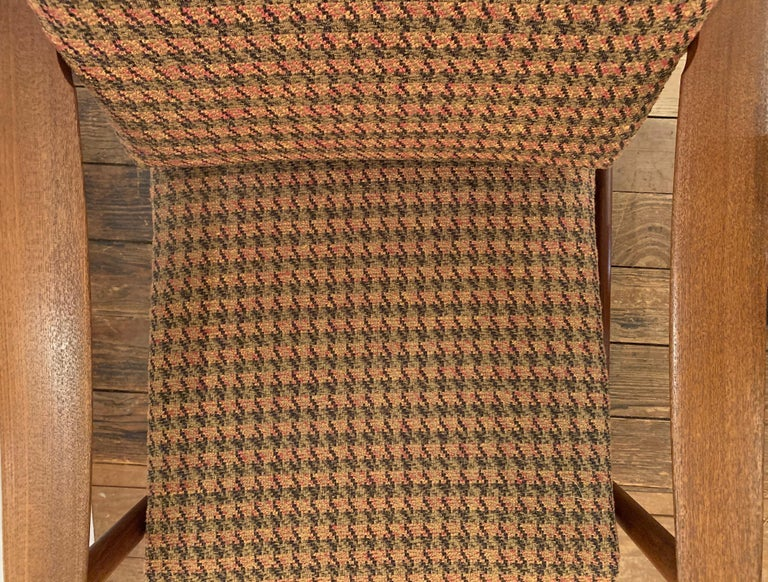 Upholstery Pair of 1960s Teak Lounge Club Chairs For Sale