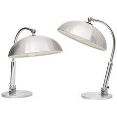 Pair of 1970s Hala Zeist Desk Lamps by H Busquet