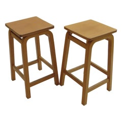 Pair of 1970s Laboratory School Stools by James Leonard for Esavian, UK
