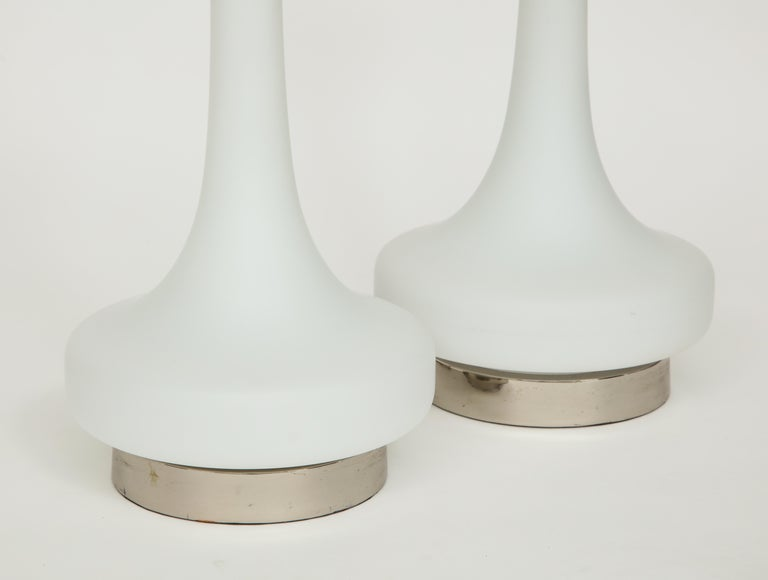 Mid-Century Modern Pair of 1970s Lamps by Laurel Lamp Company For Sale