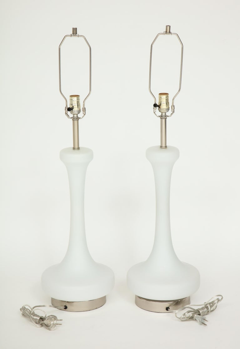 American Pair of 1970s Lamps by Laurel Lamp Company For Sale