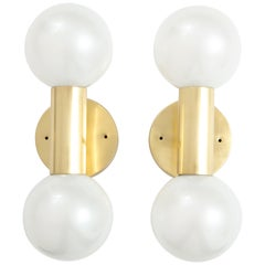 Pair of 1970s Midcentury Sconces by Staff