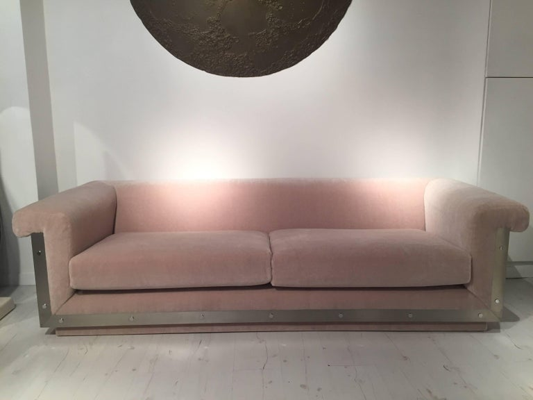 Pair of 1970s Sofas by Maison Jansen For Sale 5