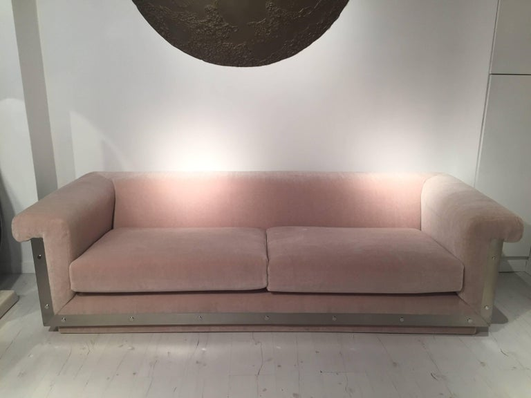 Pair of 1970s Sofas by Maison Jansen For Sale 6