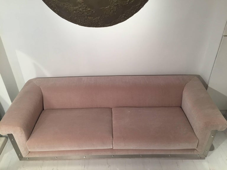 Pair of 1970s Sofas by Maison Jansen For Sale 7