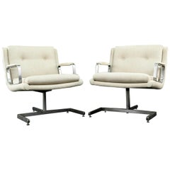 Pair of 1974 Raphael Raffel Armchairs