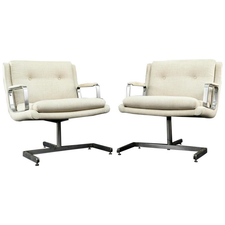 Pair of 1974 Raphael Raffel Armchairs For Sale