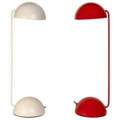 Pair of 1980s Barbieri & Marianelli 'Bikini' Table Lamps for Tronconi