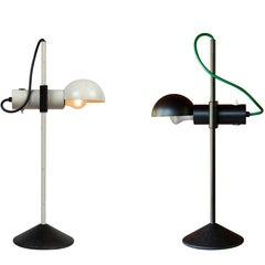 Pair of 1980s Barbieri & Marianelli Table Lamps for Tronconi
