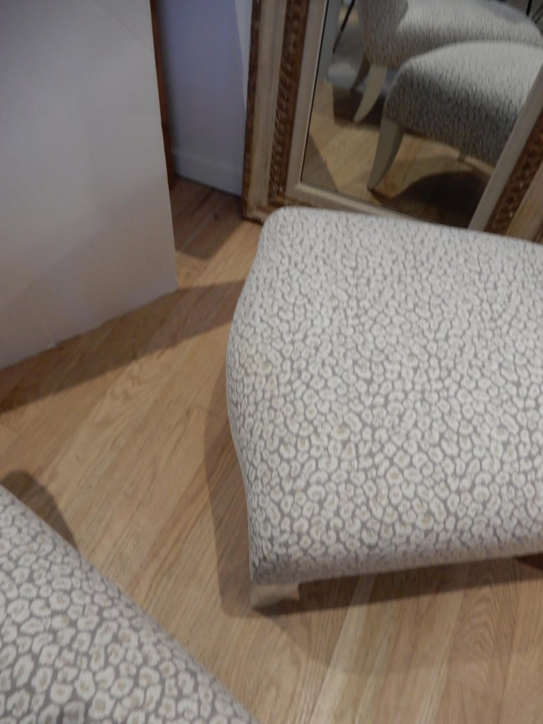 20th Century Pair of 1980s Donghia Slipper Chairs or Side Chairs