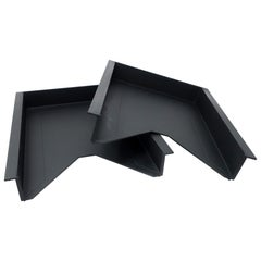 Pair of 1990s Letter Trays by Foster & Partners for Helit