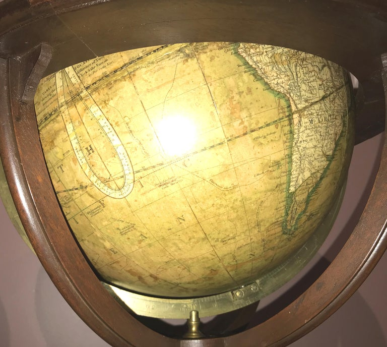 Pair of 19th Century English J & W Cary Celestial/Terrestrial Table Model Globes For Sale 7