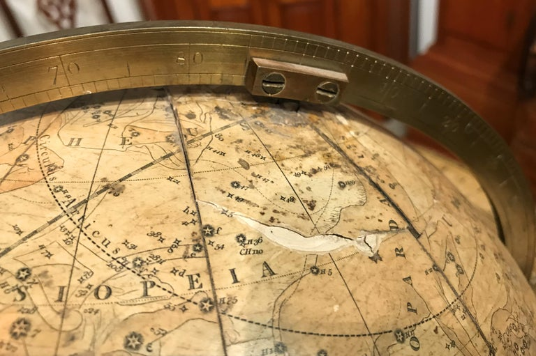 Pair of 19th Century English J & W Cary Celestial/Terrestrial Table Model Globes For Sale 9