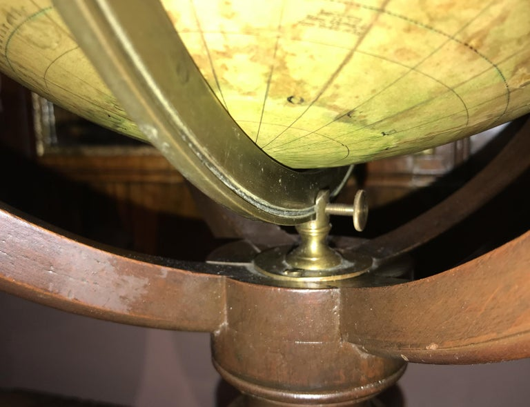 Pair of 19th Century English J & W Cary Celestial/Terrestrial Table Model Globes For Sale 10
