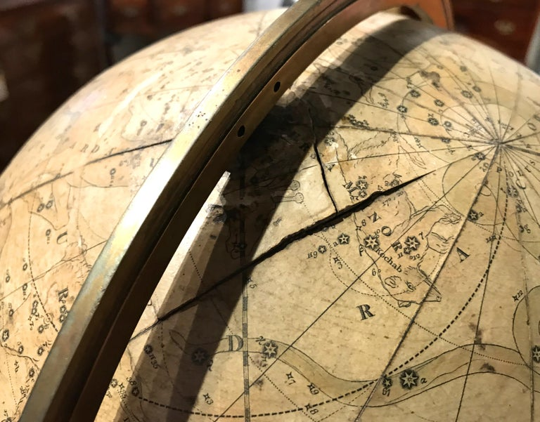 Pair of 19th Century English J & W Cary Celestial/Terrestrial Table Model Globes For Sale 11