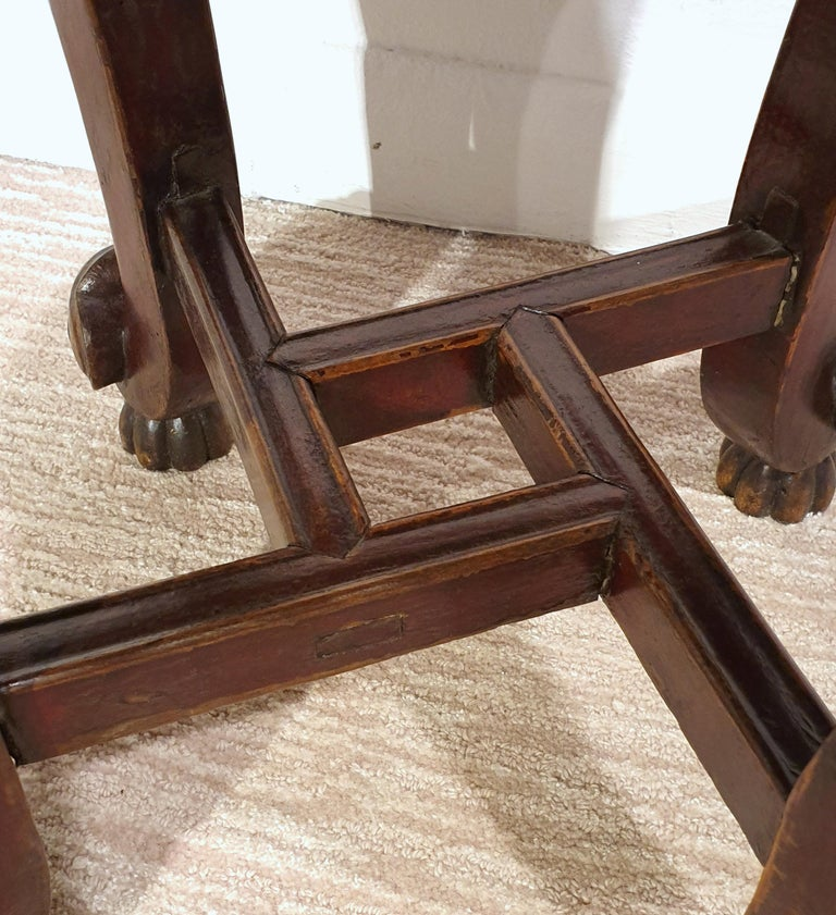 Pair of 19th Century Hardwood Chinese Stands For Sale 5