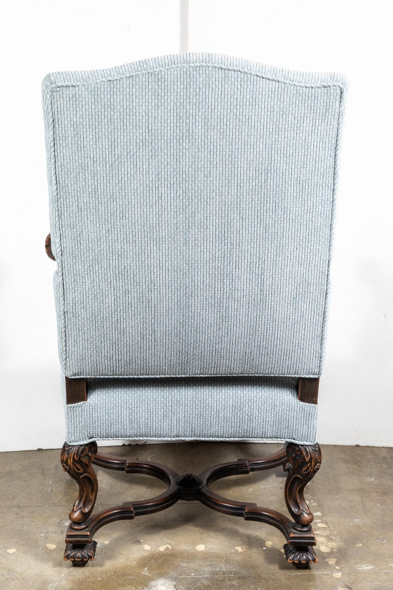 Pair of 19th Century, Italian Armchairs For Sale 4
