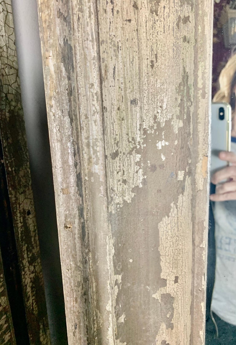 Other 19th Century Painted Monumental Italian Mirror For Sale