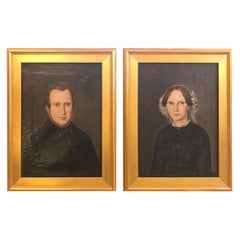 Pair of 19th Century American Portraits