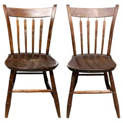Pair of 19th Century American Side Chairs