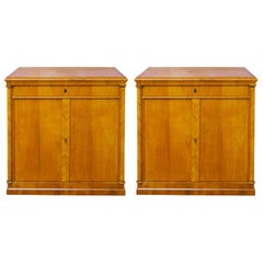 Pair of 19th Century Biedermeier Cabinets