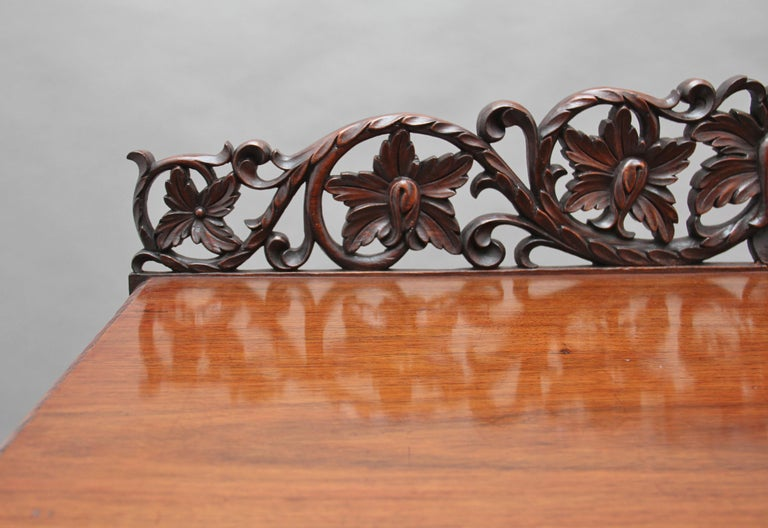 Pair of 19th Century Carved Console Tables For Sale 1