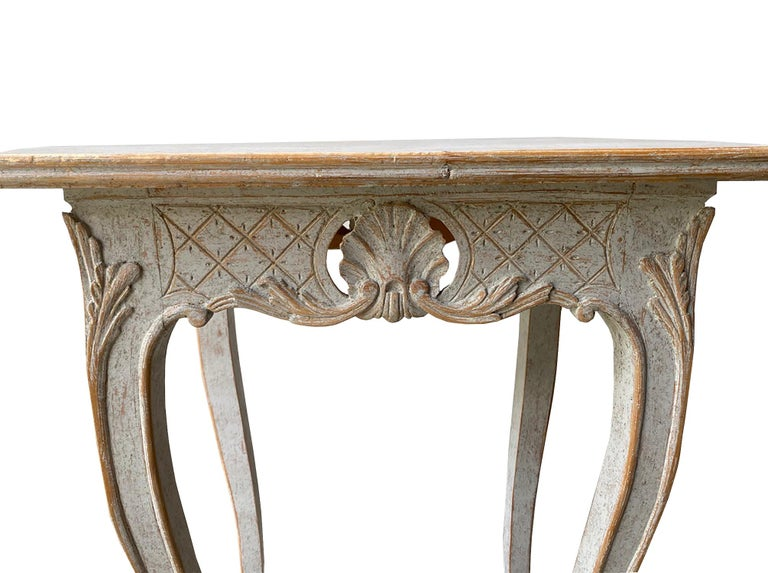 Pair of 19th Century Carved Tables In Good Condition For Sale In Tetbury, Gloucestershire