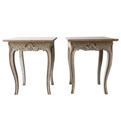 Pair of 19th Century Carved Tables