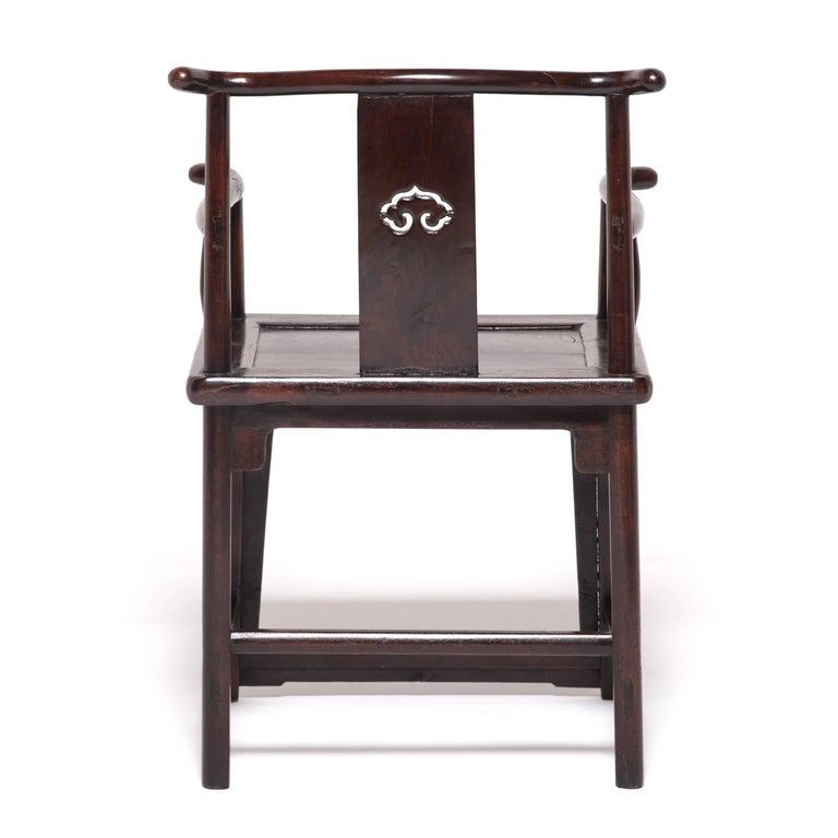 Pair of 19th Century Chinese Ruyi Official's Chairs In Good Condition For Sale In Chicago, IL