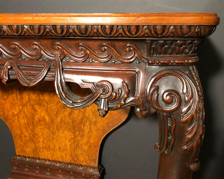 Pair of 19th George II Century Console Tables In Good Condition For Sale In Norwood, NJ