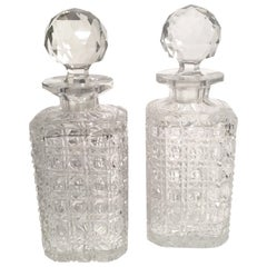Pair of 19th Century Decanters