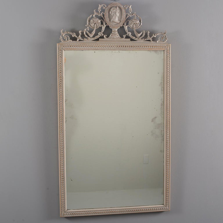 Pair of 19th Century Directoire Mirrors For Sale 6